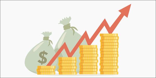 money-rise-increase